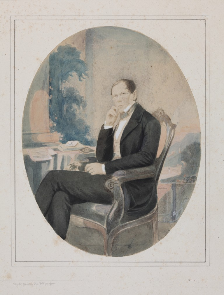 Портрет князя П.А. Вяземского