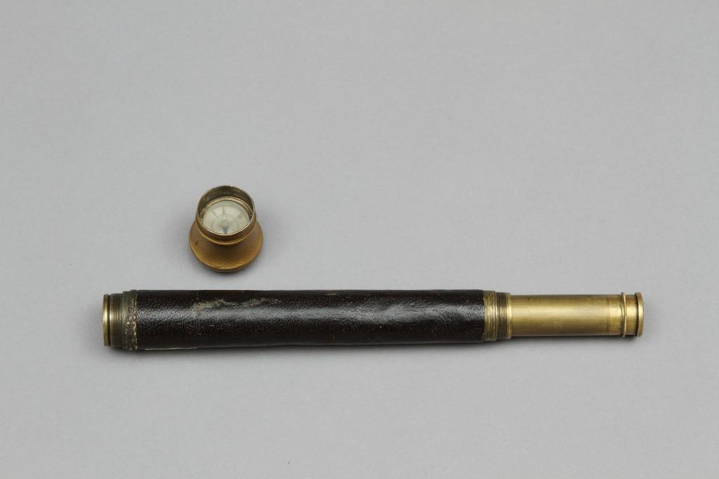 Подзорная труба с компасом Ф.Ф. Матюшкина