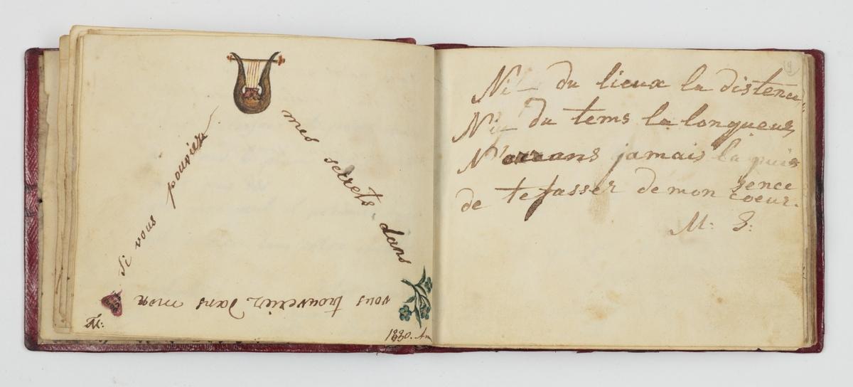 Рисунок в альбоме Анны Лукашевич. 1810 – 1820-е