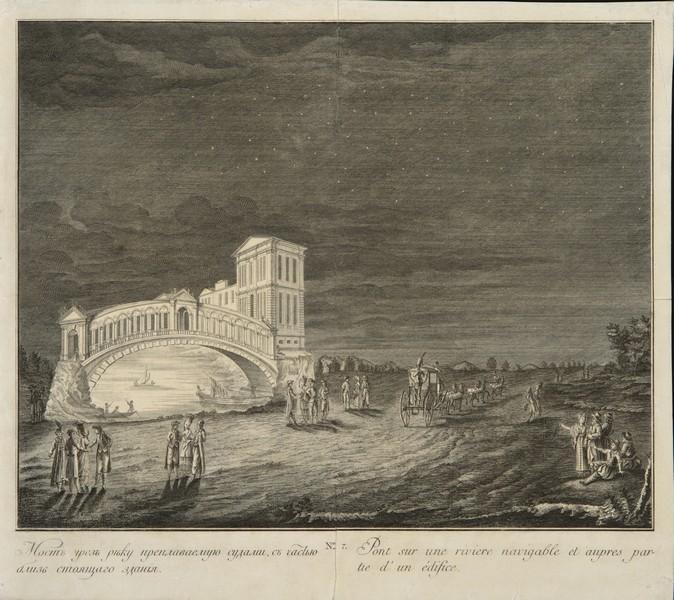 Иллюминация, устроенная 28 октября 1770 года между Петербургом и Царским Селом во время проезда Екатерины II и принца прусского Генриха