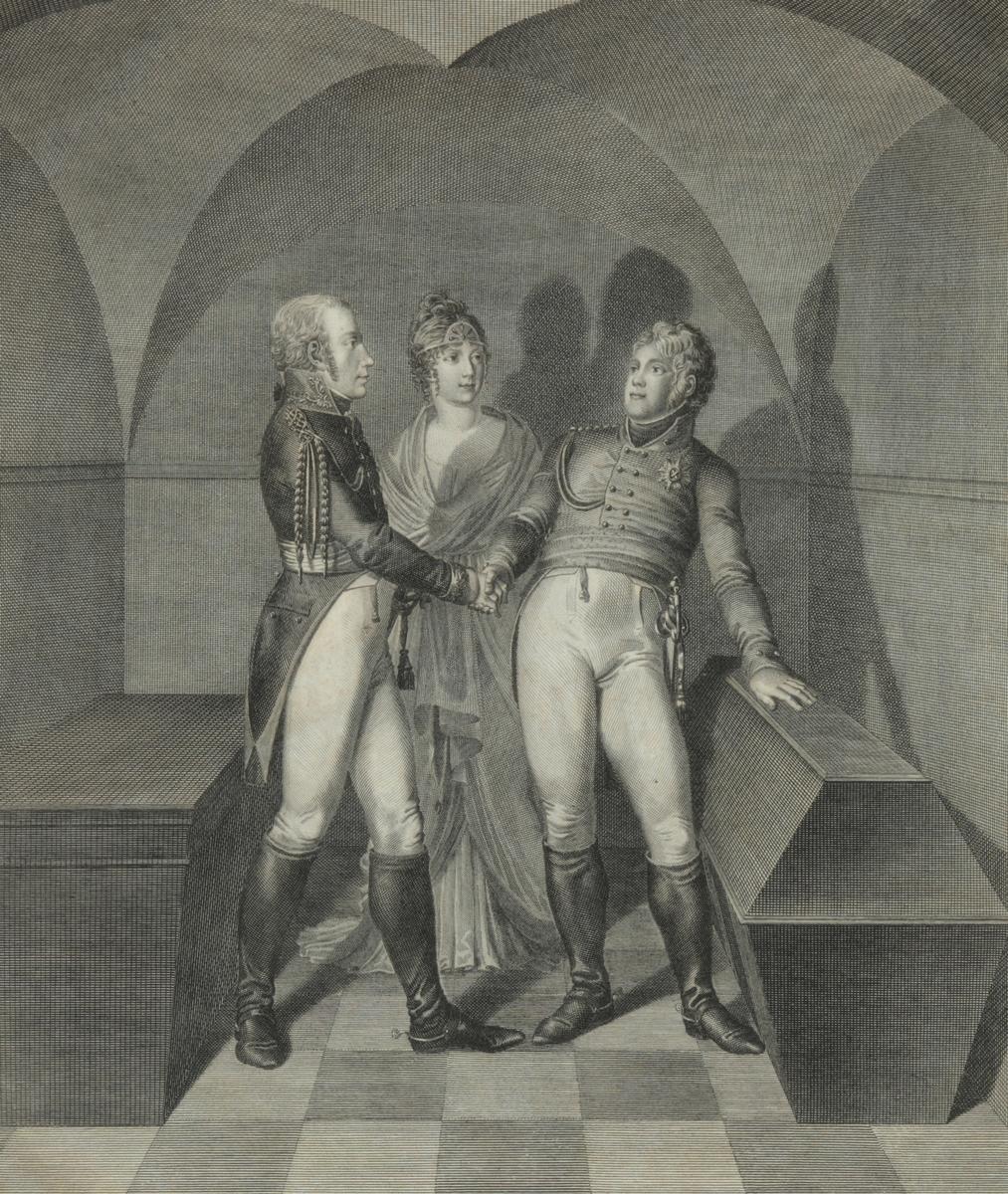 Клятва у гроба Фридриха Великого