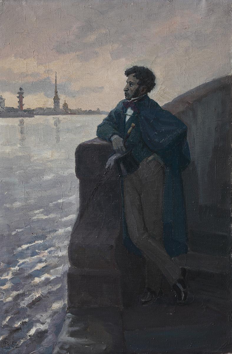 Пушкин А.С. на Неве