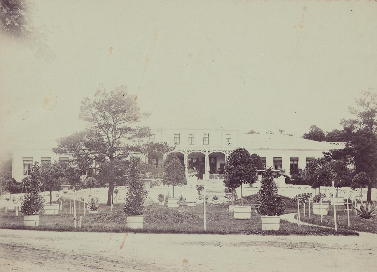 Барский дом в Усадьбе Знаменское (Кариан)