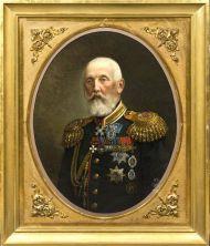 Тюрин И.А. Портрет гр. А.А.Суворова-Рымникского.1882. Холст, масло.