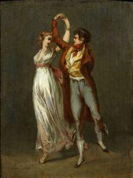 Танец. 1 четверть XIX века. Буальи Луи Лопольд (Boilly Louis Leopold). 1761-1845. Дерево, масло.
