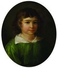 Степанов. Портрет Д.Д. Благово. 1832. Холст, масло.