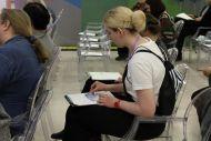 Благодаря мастер-классу ГМП посетители форума смогли попробовать себя иллюстраторами сказки