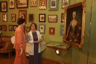Открытие выставки «Создания искусств и вдохновения…»