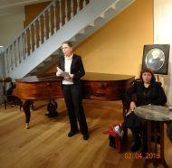 Выступает руководитель группы по комплектованию документами личного происхождения РГАЛИ Л.М. Бабаева