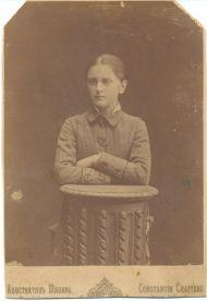 Мария Константиновна Трубникова (в зам. Вырубова). Сер 1870х, СПб.