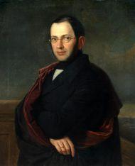 Портрет Александра Николаевича Раевского. 1840-е. Холст, масло.