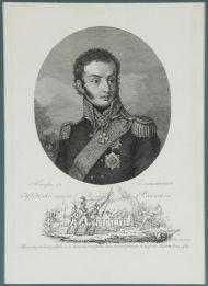 С. Карделли. Н.Н. Раевский. 1810-е. Офорт, резец