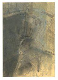 С. Жаворонков. Сломанный стул. 2007. Бумага, пастель