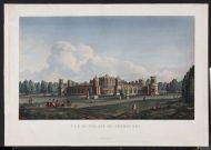 М-Ф. Дамам-Демартре. Москва. Петровский замок. 1813. Акватинта, офорт, акварель, белила.