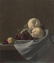 А. Жабский. Натюрморт с фруктами