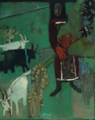 Валерий Бабин. Эта зелень холмов. 2009. Холст, масло.