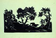 Ф.П. Толстой. Охота на кабана.