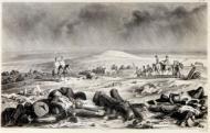 На поле битвы на реке Москве (Бородино), 17 сентября 1812 г.