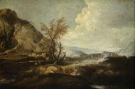 Файстенберг Антон.Пейзаж с руинами.