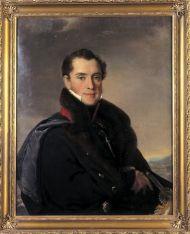Тропинин В.А. Новосильцев П.П. 1827. Холст, масло. 85х67; прямоугольник.
