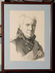 Г.А. Гиппиус. А.С. Шишков. Лист из серии «Современники». Литография. 1822.