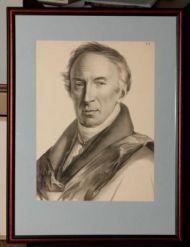 Г.Гиппиус. Н.М. Карамзин. Лист из серии «Современники». Литография. 1822.