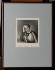 Ф.Ф. Шевалье. Е.А. Баратынский. Литография. 1830е.  Литография.