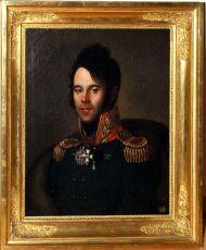 Портрет генерал-майора П.А.Папкова. 1809-1812 г. Неизвестный художник
