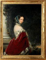 Портрет императрицы Александры Федоровны. Кристина Робертсон 1840-1850-е.