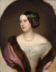 Портрет княгини Е.А. Клари-и-Альдринген.