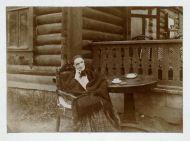 Портрет В.А. Нащокиной, Всехсвятское, 1899. Неизвестный фотограф.