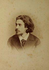 Портрет Вл.С. Соловьева. Санкт-Петербург, 1880-е. Фотоателье Ch.Roesch.