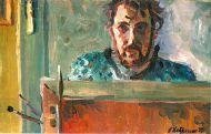 А. Добрягин. Автопортрет. 1972 г. Холст, масло.