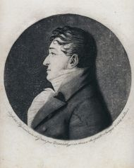 Василий Львович Пушкин (1766-1830). Э. Кенеди. Физионотрас. Гравюра лависом. 1803