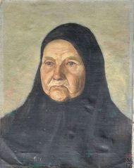 Д.В. Мирлас. Староверка.1934 г. Холст, масло
