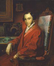 Г.И. Кадунов. Портрет князя В.В.Кочубея. 1840-50-е г. Холст, масло