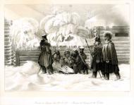 Бивуак в Красном, 16 ноября 1812 г
