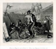 Бивуак в Студенках, 26 ноября 1812 г