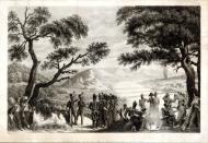 На берегу Немана. 13 июня 1812 г