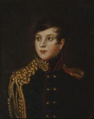 С.С. Свинцов.  Портрет графа А.П. Строганова. Около 1812. Холст, масло.