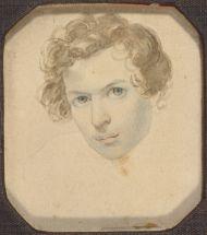 Брюллов К.П. Автопортрет. 1833-1835.