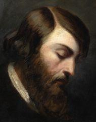Н.х. Портрет Генриха Гейне.