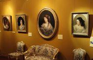 Портреты Ивана Макарова в экспозиции выставки в Государственном музее А.С. Пушкина