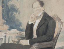 Портрет князя П.А. Вяземского. Фотограф Фогель(?). Венеция. 1853.