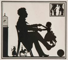 Сцена в детской. Иллюстрация к книге В.В. Вересаева «Пушкин в жизни»