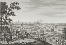 Вступление французской армии в Москву 2/14 сентября 1812 года