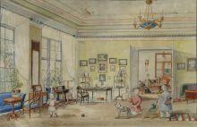 Интерьер губернского дома в Ревеле