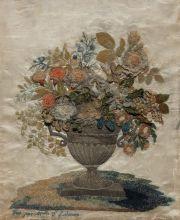 Декоративное панно «Букет цветов»