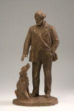 И.С. Тургенев с собакой