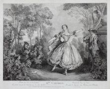 Танцовщица Мари-Анн де Камарго